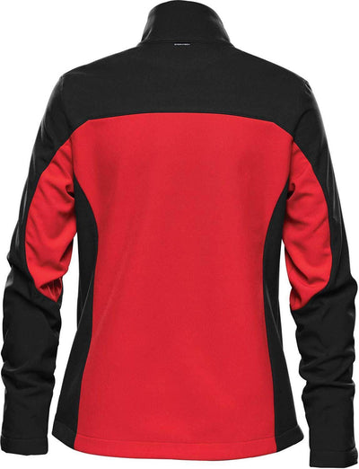Bright Red/Black - Back