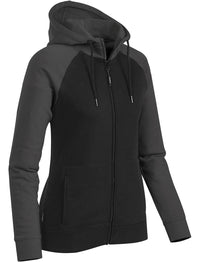 Women's Omega Two-Tone Zip Hoody - CFZ-5W