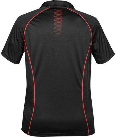 Black/True Red - Back