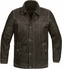 Clearance Men's Outback Leather Jacket - LRS-4
