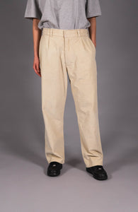 VELVET PANTS - NATURAL WHITE