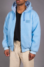 Load image into Gallery viewer, SHERPA JACKET - BLUE
