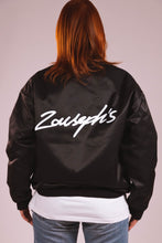 Load image into Gallery viewer, BOMBER JACKET - BLACK