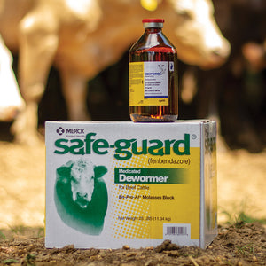 Dectomax® Injection & Safe-Guard® Dewomer Block