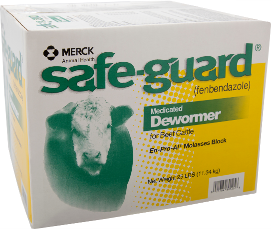 Safe-Guard® En-Pro-AL® Molasses Dewormer Block