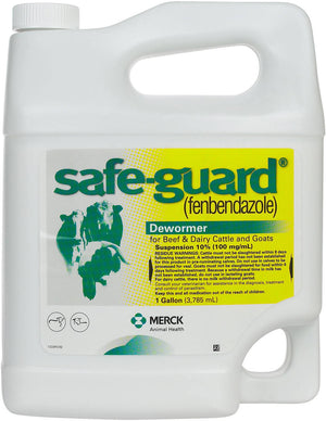 Safe-Guard® Suspension 10% Cattle and Goat Dewormer