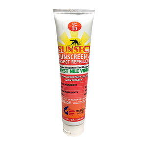 Sunsect Insect Repellent + Sunscreen 4 oz Tube