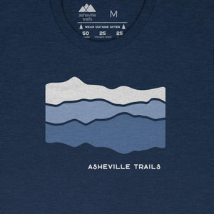 Asheville Trails Blue Ridge Mountains Shirt