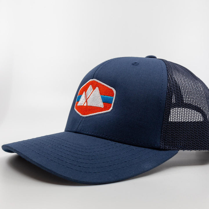 Mountain Logo Trucker Hat - Appalachian
