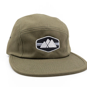 Mountain Logo 5-Panel Hat