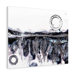 Drifting Feathers Canvas Gallery Wraps