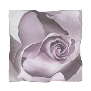 Lavender Rose Poly Scarf