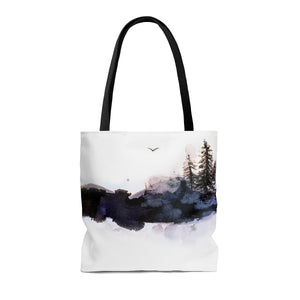 Winter Bird Tote Bag
