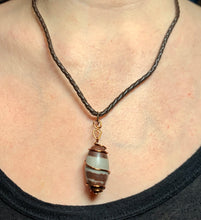 Spiral Shiva Stone Necklace