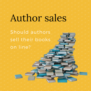 Should authors sell their own books?