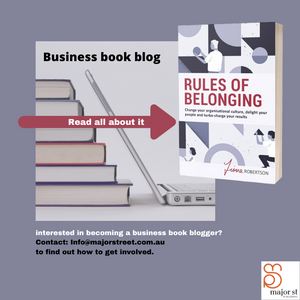 Business Book Blog | Rules of Belonging