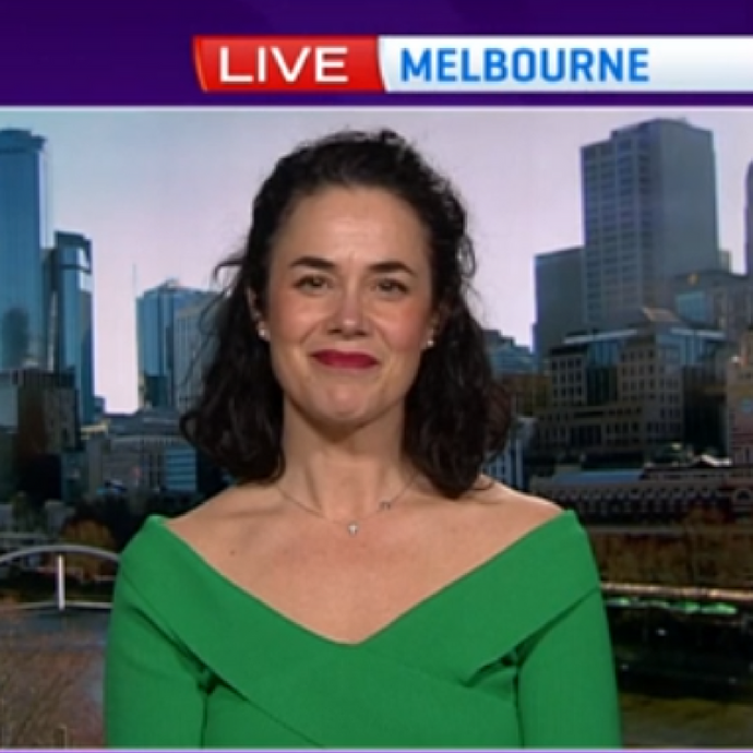 Jaquie Scammell on Yahoo! 7 News