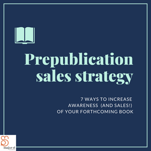 How to maximise your prepublication sales