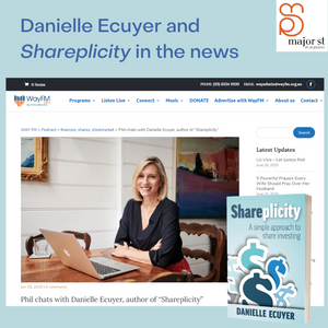 Danielle Ecuyer's 'Shareplicity in the news