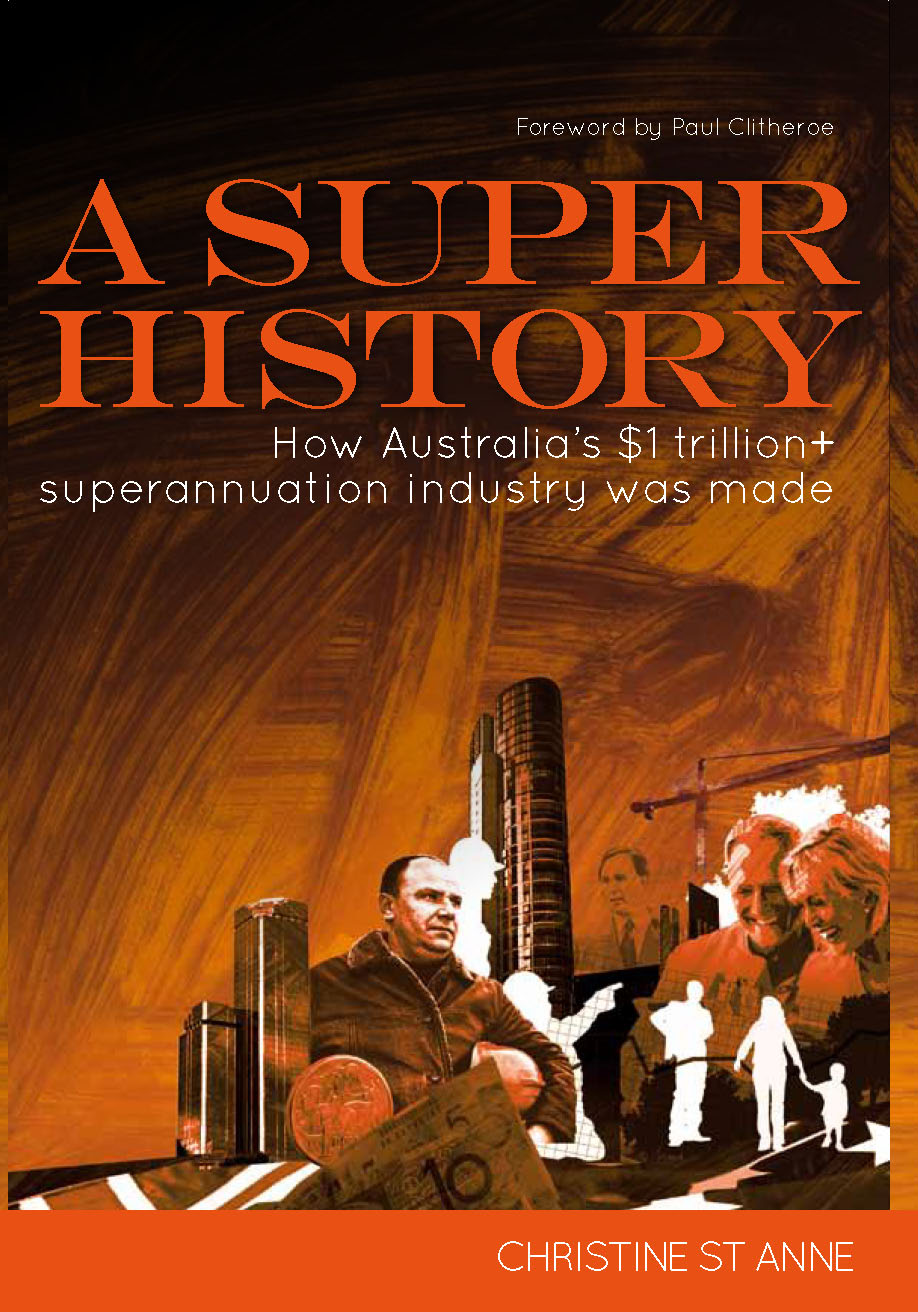 A Super History by Christine St Anne