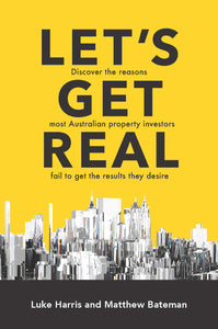 Property book cover for Let's Get Real by Luke Harris and Matthew Bateman
