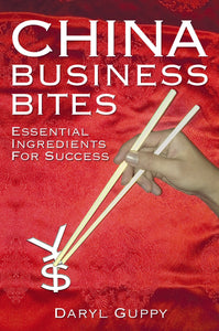 Business book cover for China Business Bites by Daryl Guppy