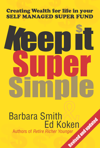 Finance book cover for Keep it Super Simple by Barbara Smith and Ed Koken