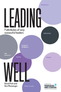 Leading Well<br><i><small> by David Pich and Ann Messenger </i> </small>