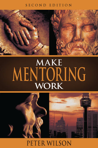Business book cover for Make Mentoring Work by Peter Wilson