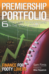 Finance book cover for Premiership Portfolio by Sam Fimis