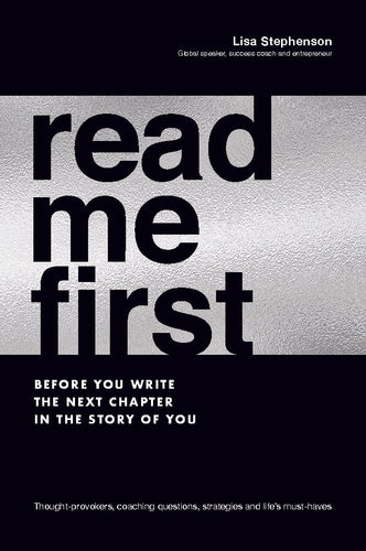 Business book cover for Read Me First by Lisa Stephenson