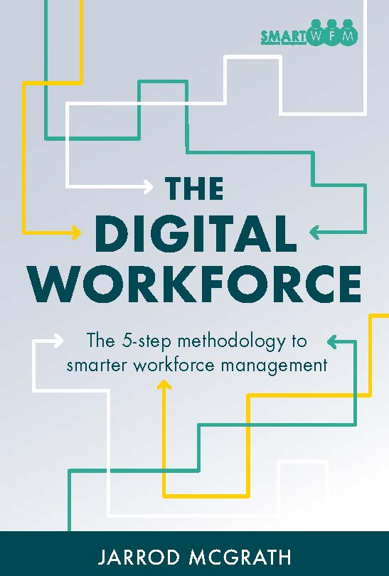 Business book cover for The Digital Workforce by Jarrod McGrath