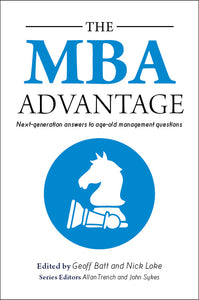 Business book cover for The MBA Advantage