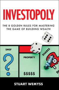 Business book cover for Investopoly by Stuart Wemyss