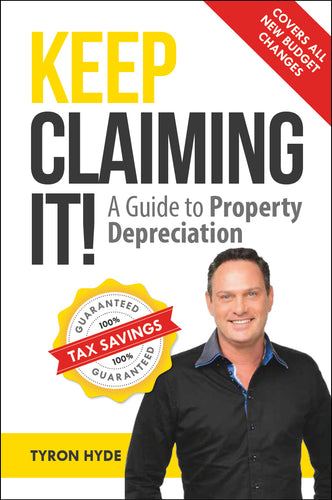 Property book cover for Keep Claiming It by Tyron Hyde