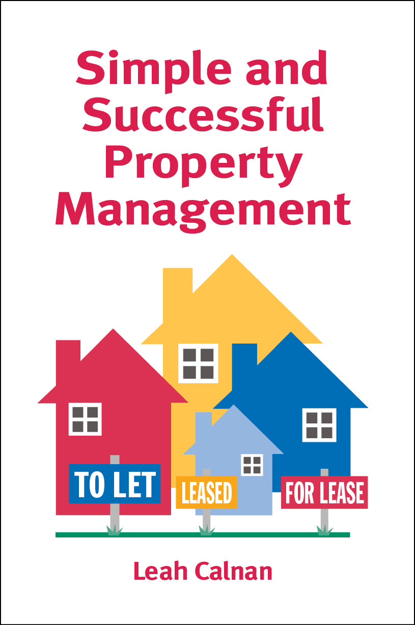 Property book cover for Simple and Successful Property Management by Leah Calnan