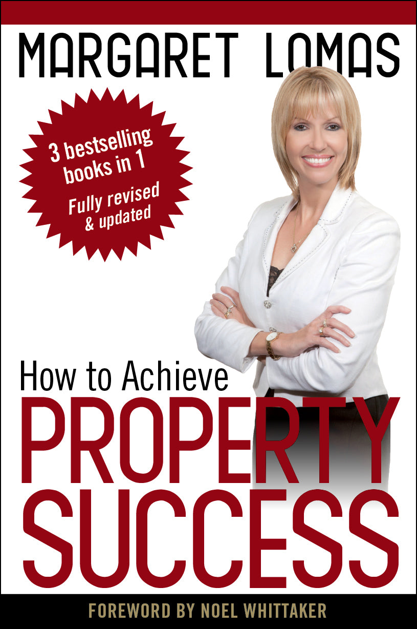 property book cover for How to Achieve Property Success by Margaret Lomas