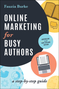 Business book cover for Online Marketing for Busy Authors by Fauzia Burke