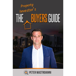 Property book cover for The Property Investor's Buyers Guide by Peter Mastroianni
