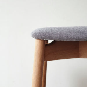 Plong Bar Stool with Upholstery