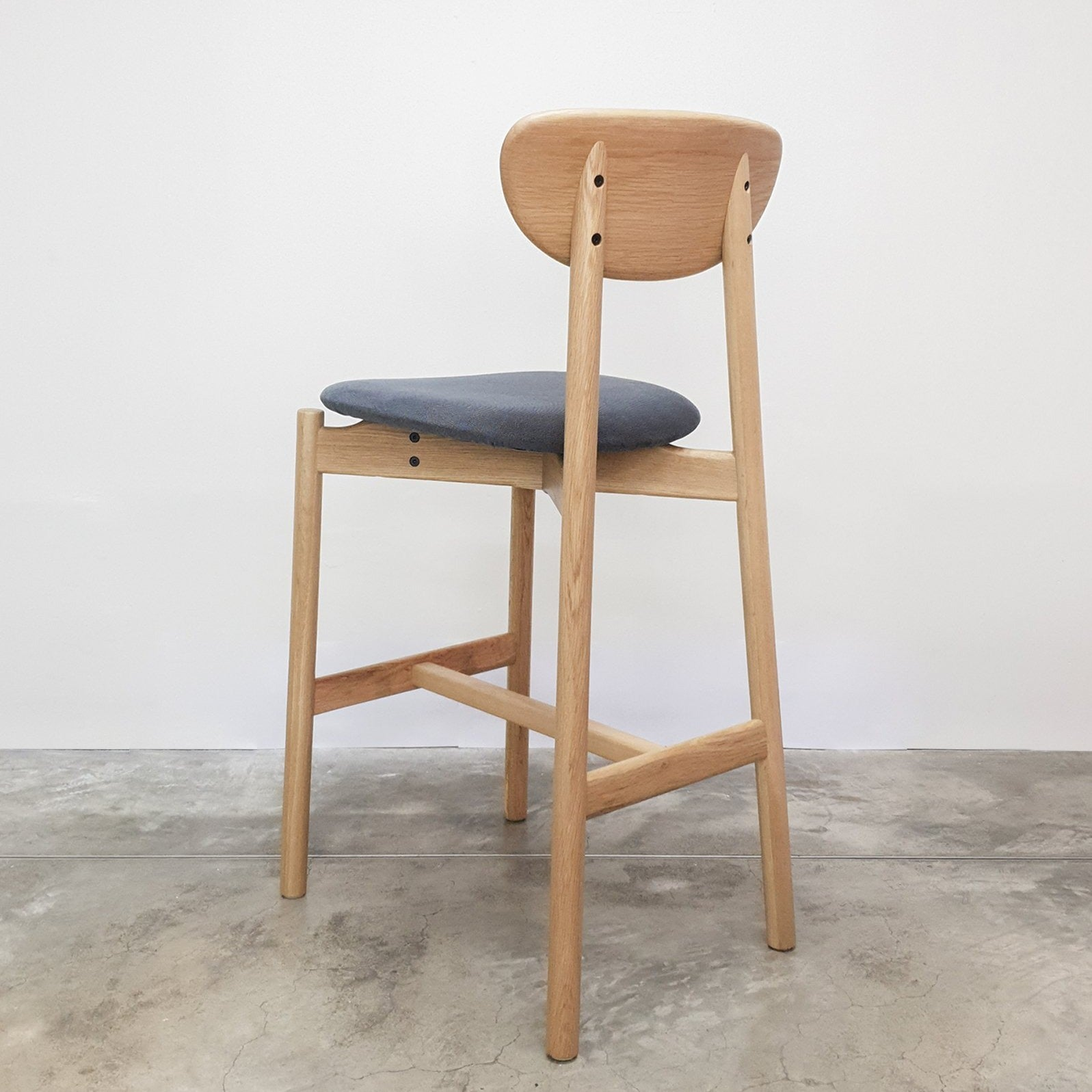 P-S Barstool With Backrest