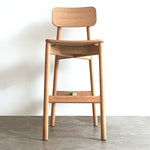 Plong Barstool With Backrest