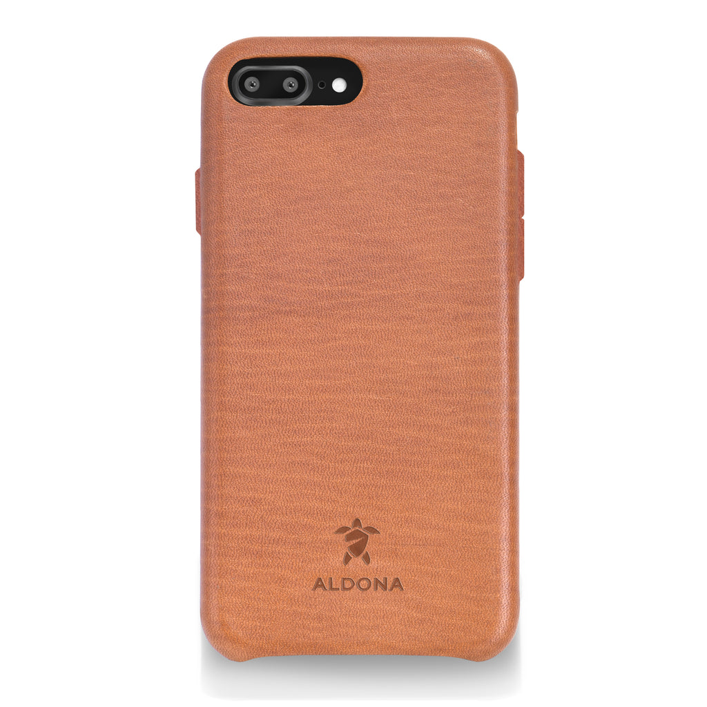 Kalon Leather iPhone 8 Plus / 7 Plus Snap Case - Wild Oak Colour