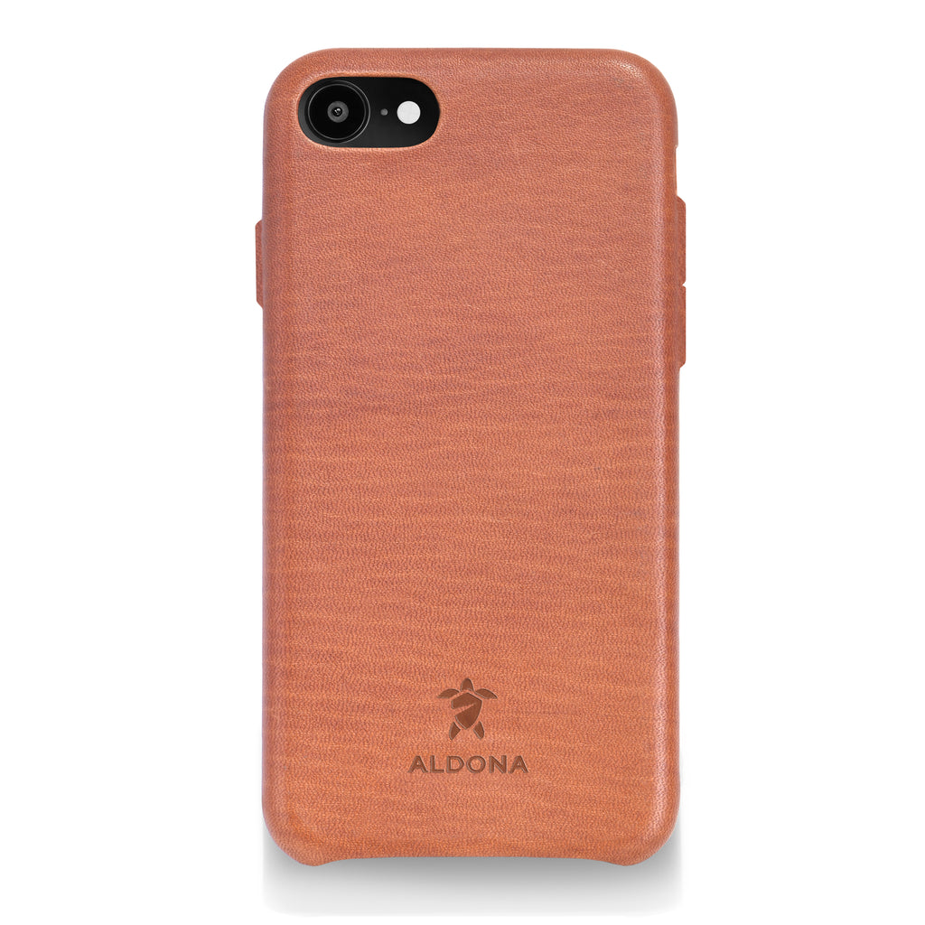 Kalon Leather iPhone 8 / 7 Snap Case - Wild Oak Colour