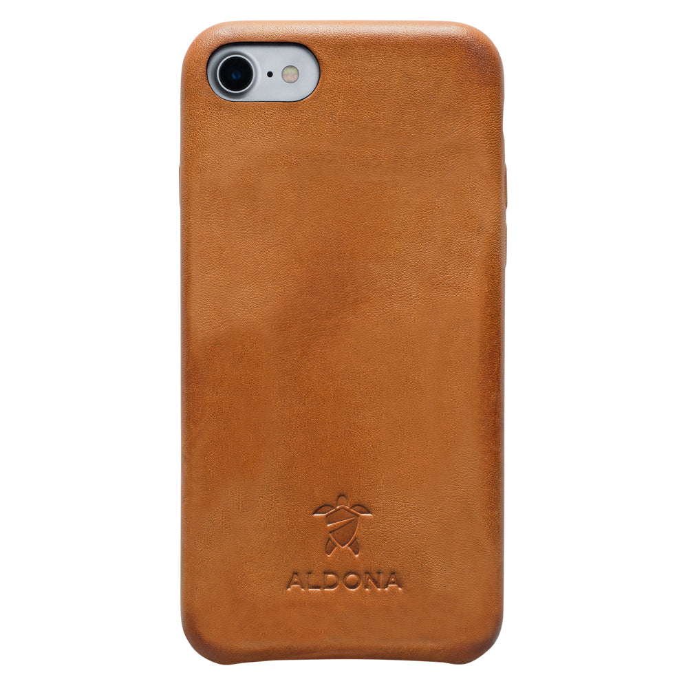 Kalon Leather iPhone 8 / 7 Snap Case - Vintage Tan Colour