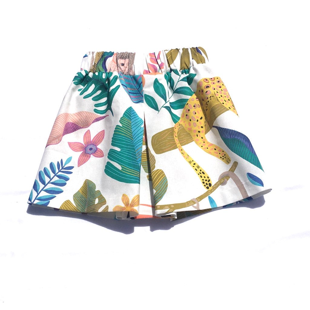front and back pleat skirt
