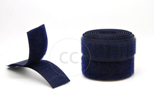 Navy Sew-on Hook & Loop tape Alfatex® Brand supplied by the Velcro Companies