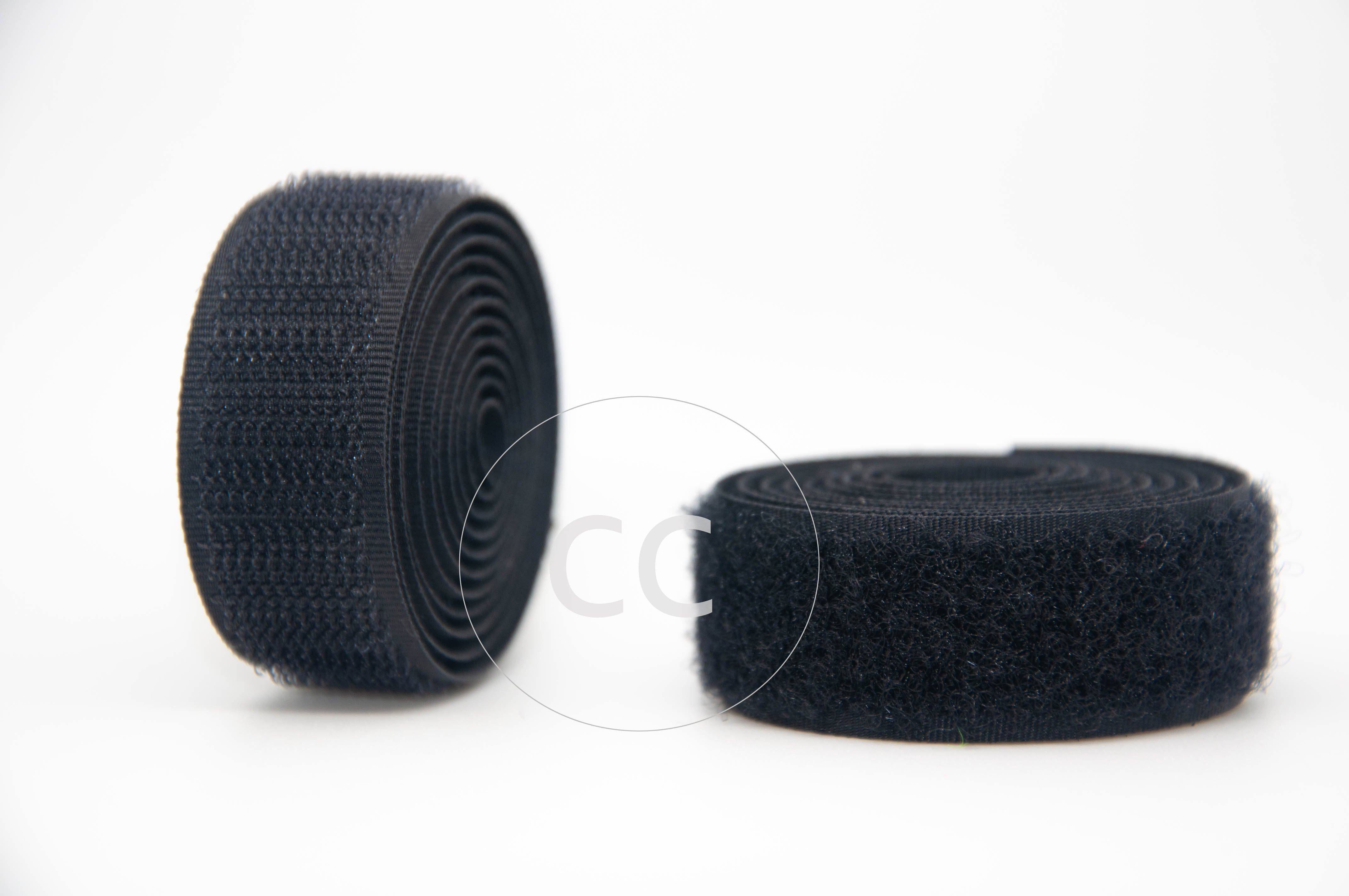 Black Sew-on Hook & Loop tape Alfatex® Brand supplied by the Velcro Companies
