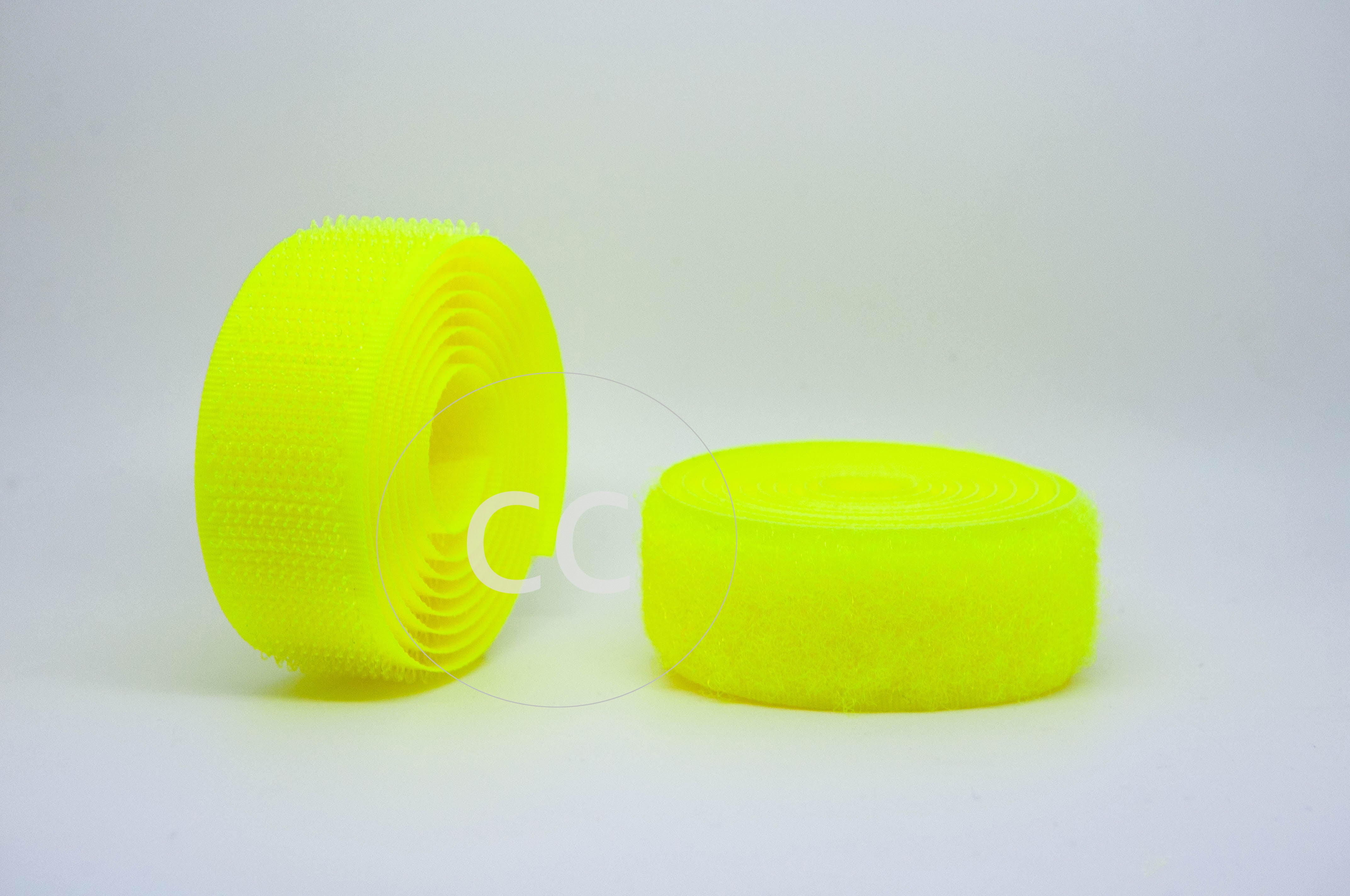 Flo Yellow Sew-on Hook & Loop tape Alfatex® Brand supplied by the Velcro Companies