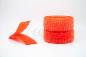 Orange Sew-on Hook & Loop tape Alfatex® Brand supplied by the Velcro Companies